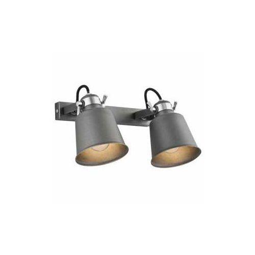 Kinkiet Argon Kongo 675 lampa ścienna 2x60W E27 antracyt, 675