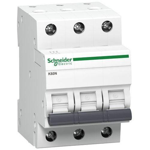 Schneider electric Wyłącznik nadprądowy schneider 3p 6a b k60n a9k01306 (3606480478208)