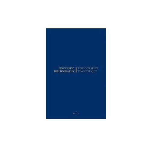 Linguistic Bibliography for the Year 1980 / Bibliographie Linguistique de l'Annee 1980