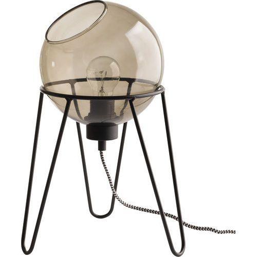 Lampa stołowa lampka TK Lighting Pobo 1x60W E27 grafit / czarna 2969