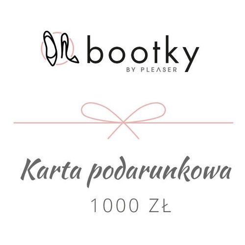 Karta podarunkowa 1000 zł marki Pin up