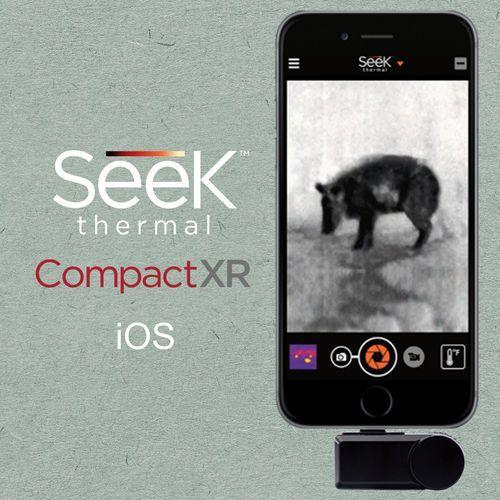 Seek thermal Kamera termowizyjna do smartfonu compactxr ios iphone