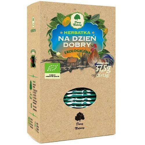 Dary natury - herbatki bio Herbatka na dzień dobry bio (25 x 1,5 g) - dary natury