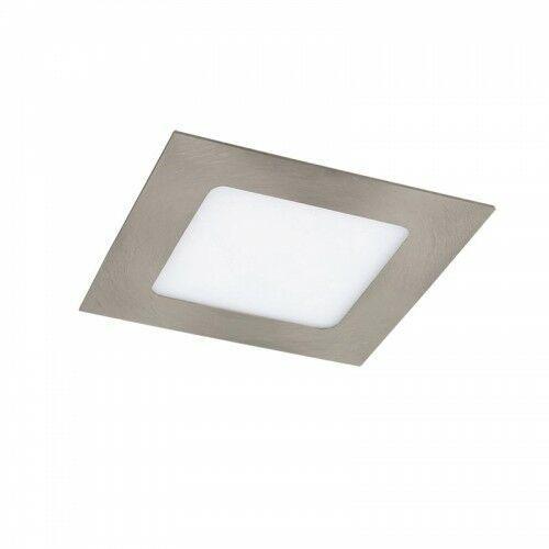 Lois 5 lat Gwarancji Satynowy chrom 6W 3000K Oprawa wpuszczana LED Rabalux 5581