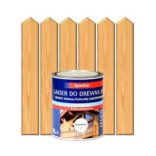 Lakier zewnętrzny do drewna BSC 2,5 l Bezbarwny SYNTILOR (3239916231025)