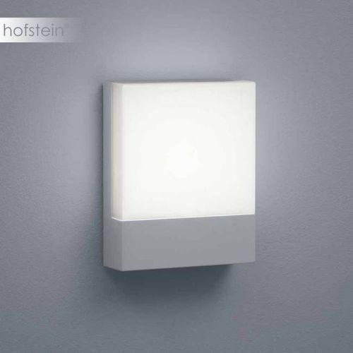 Helestra REEF zewnętrzny kinkiet LED Srebrny, 1-punktowy - Nowoczesny - Obszar zewnętrzny - REEF - Czas dostawy: od 6-10 dni roboczych (4022671101738)