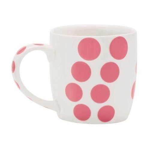 Zak! - Porcelanowy kubek, różowy, Dot