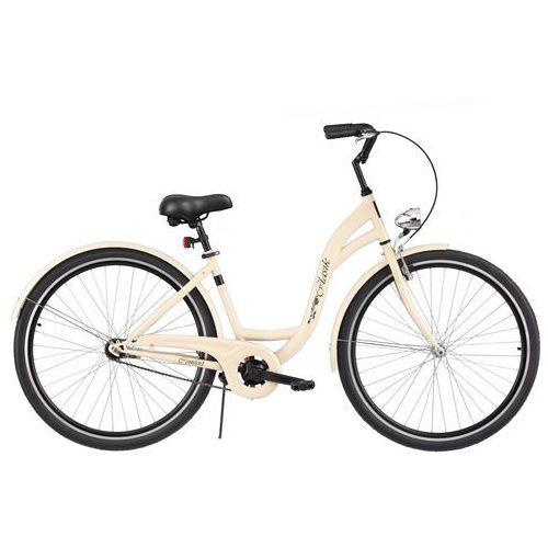 Rower  retro s1b cappucino + 5 lat gwarancji na ramę! + darmowy transport! marki Dawstar