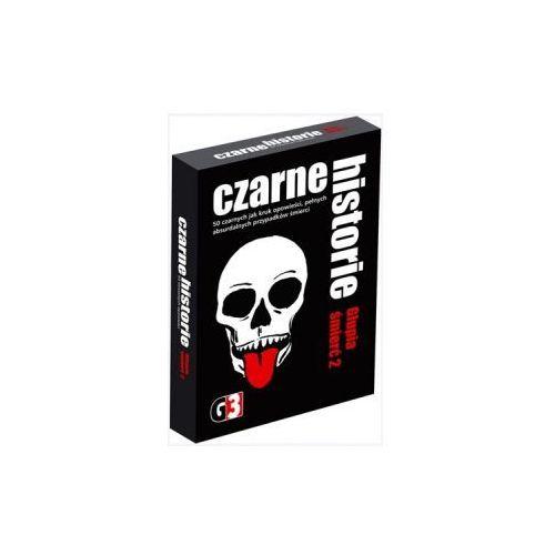 Czarne historie. głupia śmierć 2. gra towarzyska marki G3