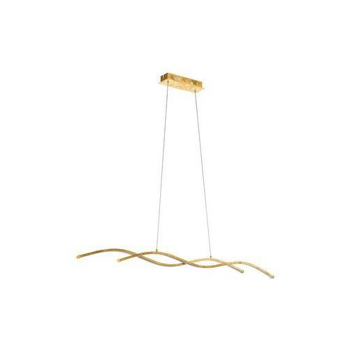 Eglo Lampa wisząca miraflores 97837 sufitowa 2x13w led złota (9002759978372)