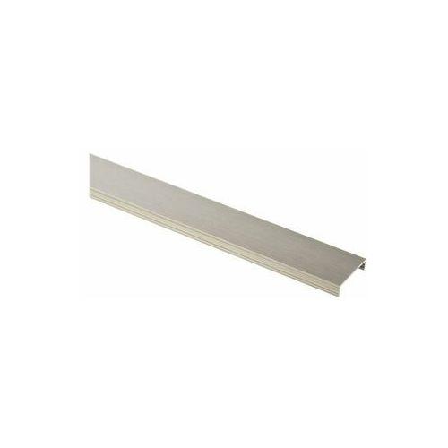 Cezar Profil wykończeniowy ozdobny aluminium u 30 x 7.3 / 2.5 m elpo platyna (5904584808180)