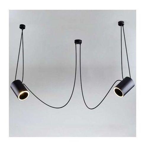 Shilo Lampa wisząca dubu 9026/e14/cz metalowa oprawa modernistyczny zwis tuby czarne (1000000427547)