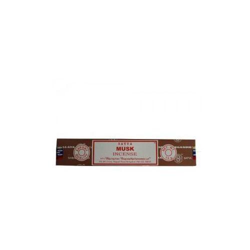 Kadzidełka musk piżmo  naturalne 15g marki Satya