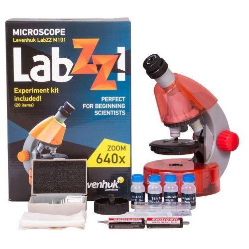 Mikroskop  labzz m101 orange\pomarańcza marki Levenhuk