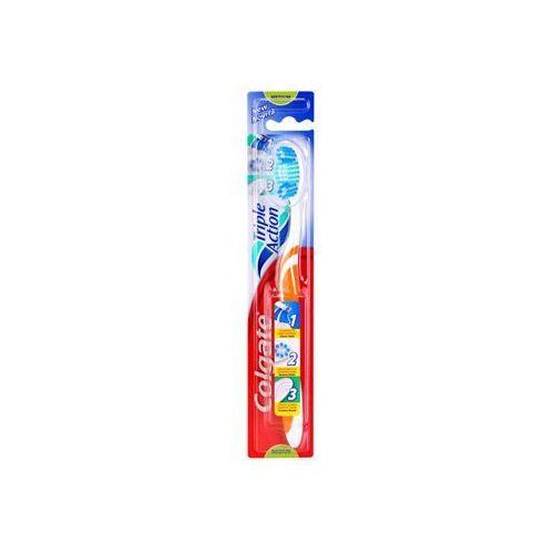 Colgate Triple Action szczoteczka do zębów medium + do każdego zamówienia upominek., kup u jednego z partnerów