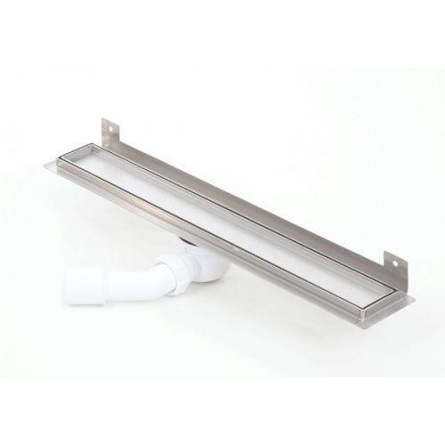 Kesmet wall silver ceramic tile odpływ ścienny 600kwf_p 600mm (syfon plastikowy)