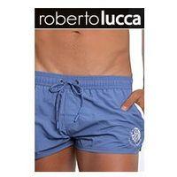 Roberto lucca Mȩskie kąpielowki shorts rl14042 monaco jeans blue