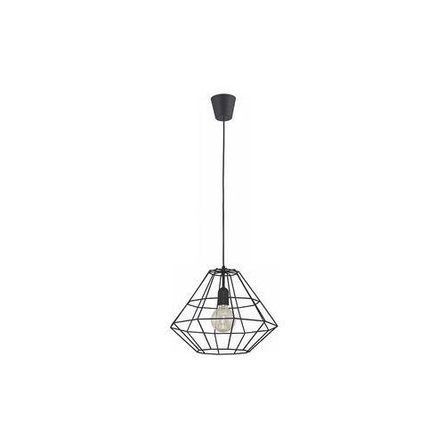 Tklighting Lampa wisząca druciana zwis oprawa diament tk lighting diamond 1x60w/e27 czarny 1995 (5901780519957)