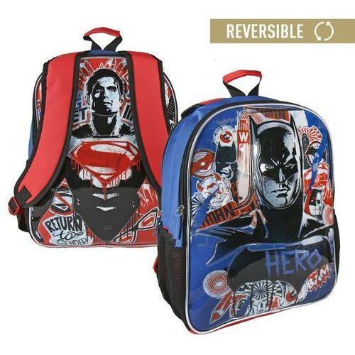 Plecak dwustronny batman vs superman 41 cm marki Cerda
