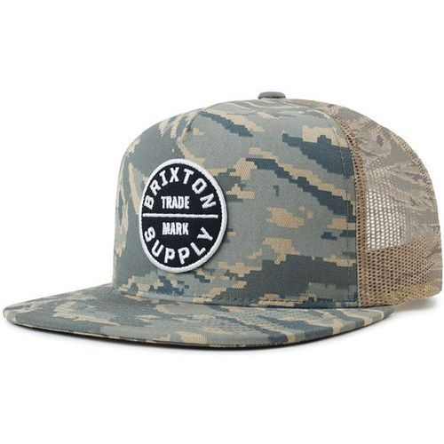 czapka z daszkiem BRIXTON - Oath Iii Mesh Cap Digi Tiger Camo (DIGTC) rozmiar: OS