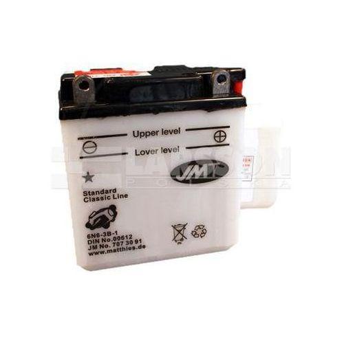 Akumulator standardowy jmt 6n6-3b-1 1100021 yamaha dt 175, honda cb 125 marki Jm technics