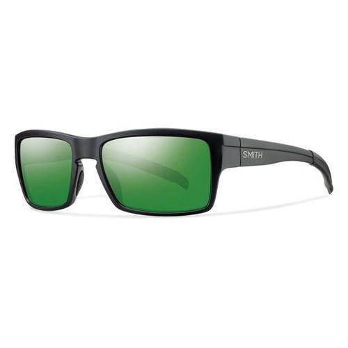 SMITH - Outlier/N Matte Black Green Dl5-56Ad (DL5-56AD) rozmiar: OS, kolor zielony