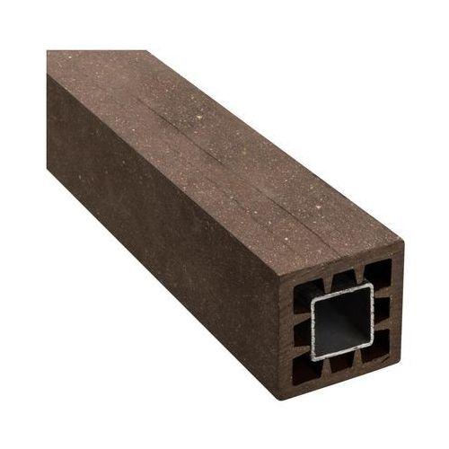 Winfloor Kantówka kompozytowa 6x6x105 cm brązowa wpc (5908443048212)