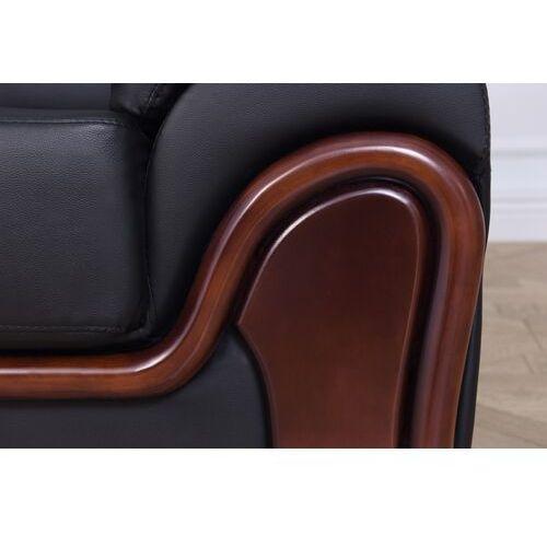 "Attribute=""product|brand""} Sofa 3-osobowa palladio czarny"