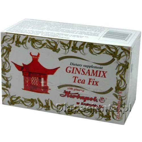 Herbatka z żeń-szeniem ginsa mix - 3,0g * 20 szt marki Herbapol