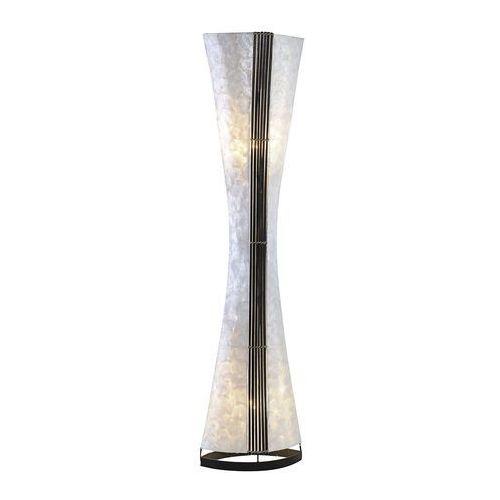 Paul neuhaus abuja lampa stojąca czarny, biały, 2-punktowe - design - obszar wewnętrzny - abuja - czas dostawy: od 2-4 dni roboczych