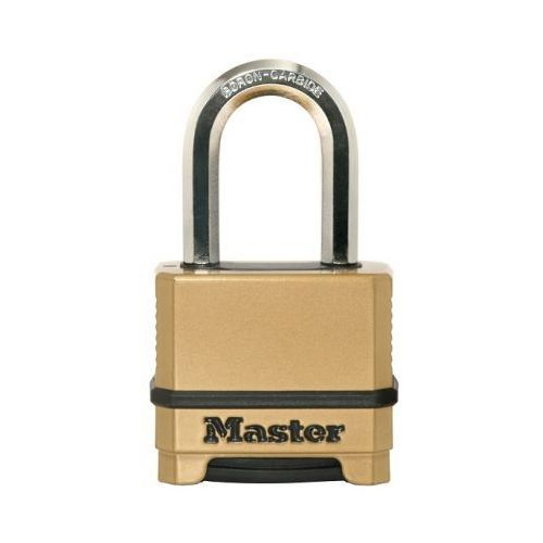 Kłódka m175eurdlf 50 mm cynkowana na szyfr bor/oct 9 mm marki Masterlock