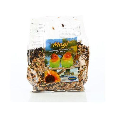 MEGAN 500g Mieszanka pełnoporcjowa dla papug