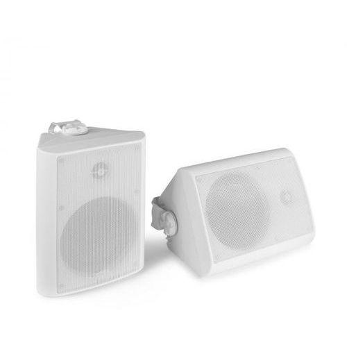 Power Dynamics BGO65, zestaw kolumn głośnikowych, moc szczytowa 150 W, moc RMS 45 W, kolor biały (8715693307061)