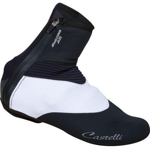 Castelli tempo osłona na but kobiety biały/czarny l   43-44 2017 ochraniacze na buty i getry