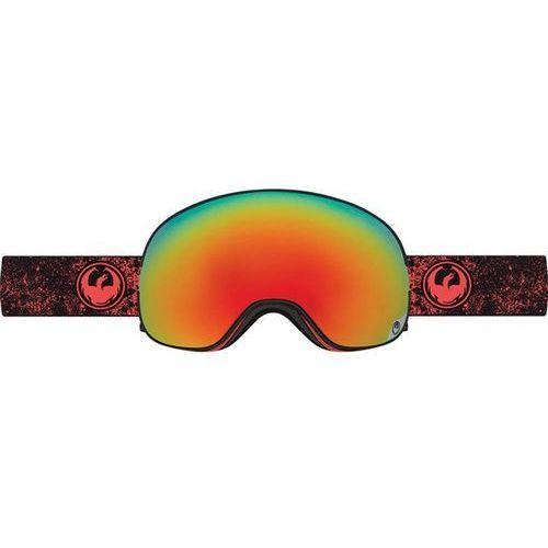 Dragon Gogle snowboardowe  - x2 - energy scarlet/red ion + yellow blue ion (446)