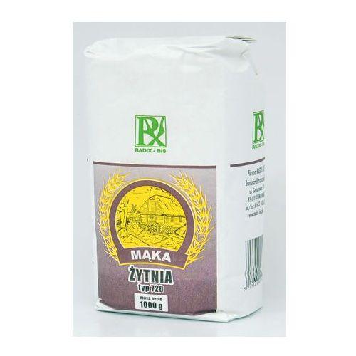 Mąka żytnia typ 720 1000g marki Radix-bis