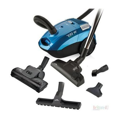 ETA Tiago Vacuum Cleaner ETA450790000 Bagged, Red, 700 W, 3 L, A, A, D, A, 79 dB, HEPA filtration system, 230 V (8590393257041)
