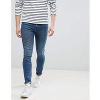 Mango man slim jeans in vintage blue - blue