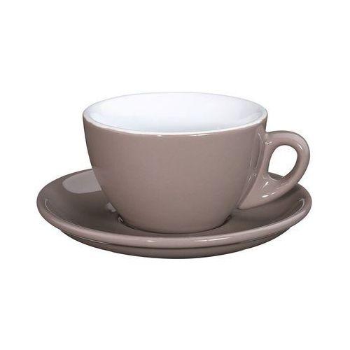 Cilio - roma - filiżanka do cappuccino, 0,10 l, beżowa - beżowy