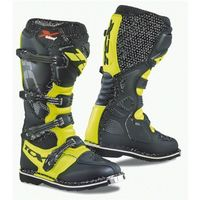 buty x-blast royal black/yellow fluo, Tcx