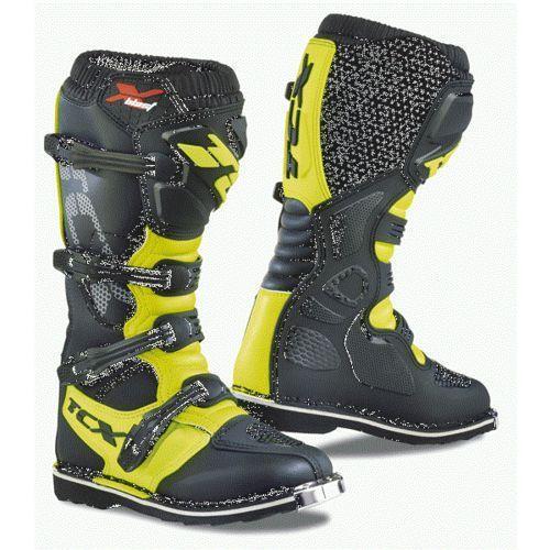 Tcx buty x-blast royal black/yellow fluo