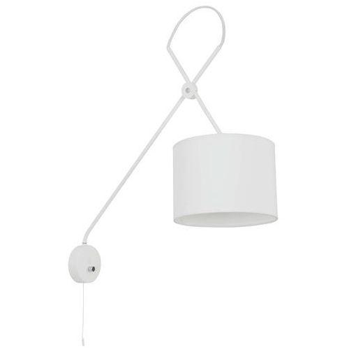 Nowodvorski Kinkiet viper white 6512 biały na wysięgniku + rabaty za ilość w koszyku!!! - biały
