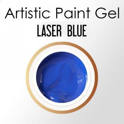 Nails Company ARTISTIC PAINT GEL PASTA 5g - LASER BLUE (błękit), 39917