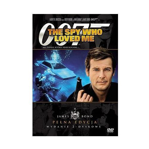 James Bond ekskluzywna edycja 2-płytowa: 007 Szpieg, który mnie kochał (DVD) - Lewis Gilbert