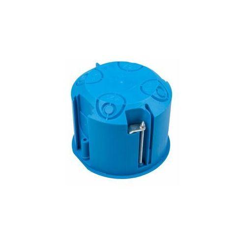 Przedsiębiorstwo simet s.a. Puszka podtynkowa 70mm regips niebieska z pokrywą pv70 samogasnąca bezhalogenowa 32150203 /12szt./