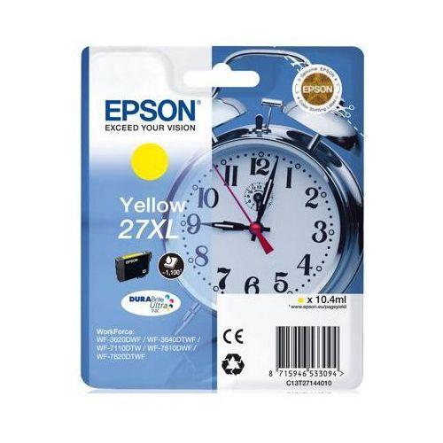 Tusz oryginalny 27xl żółty do  workforce wf-7110 dtw - darmowa dostawa w 24h marki Epson