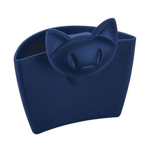 Pojemnik wielofunkcyjny na kubek mimmi welwetowy błękit marki Koziol