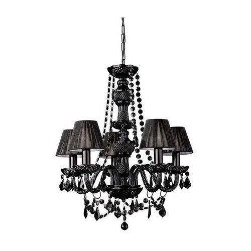 Philips Massive 41766/30/10 - Lampa wisząca Żyrandol FLAUBO 5xE14/60W czarny (5412253960119)