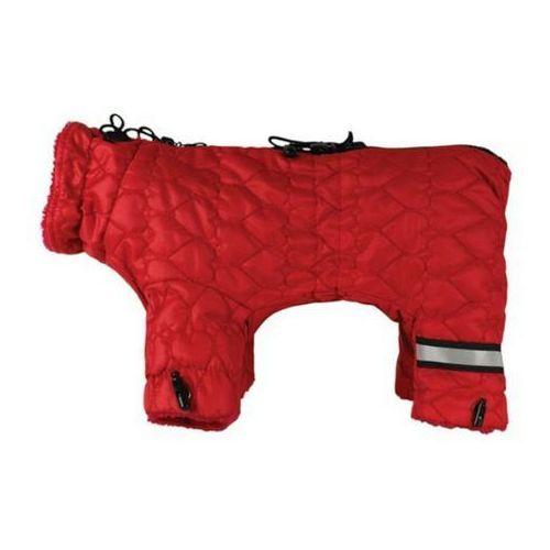Grande finale  kombinezon z22 dla psa czerwony serca końcówka kolekcji