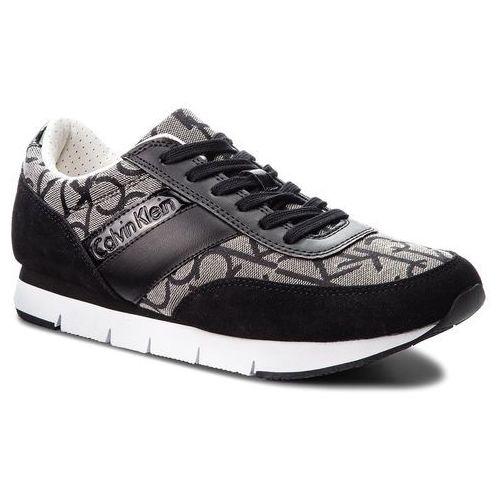 Sneakersy CALVIN KLEIN JEANS - Juan SE8549 Granite/Black, w 7 rozmiarach